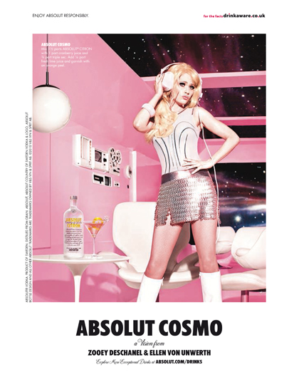 Absolut Cosmo by TBWA\Chiat\Day