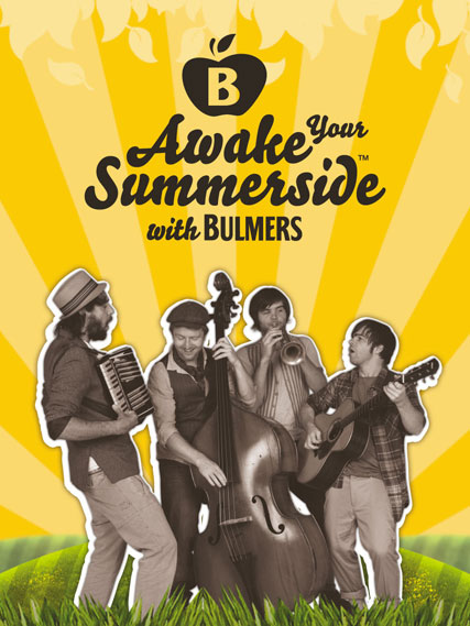 Bulmers launches Awake Your Summerside tour