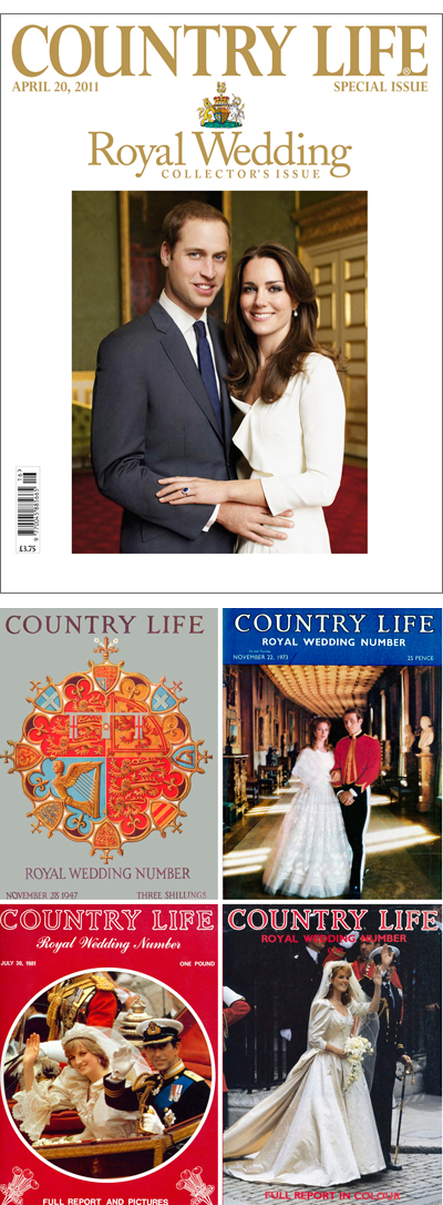 Country Life Royal Wedding special editions