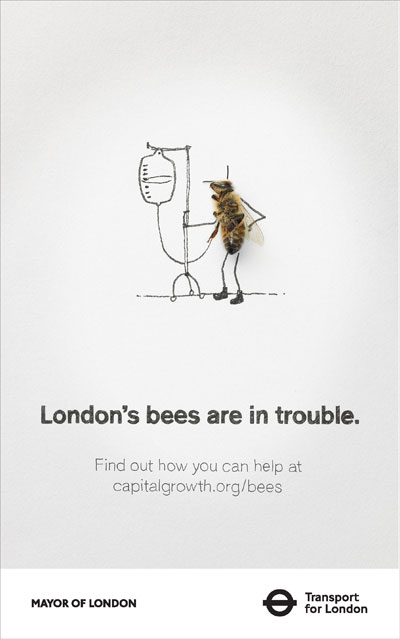 Mayor Boris Johnson backs London's bees