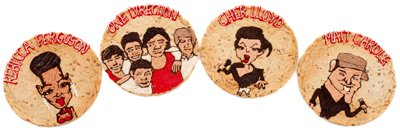 Millie's Cookies launches charity X Factor cookies