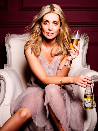 Carlsberg launches fruit spritzer Eve with Louise Redknapp