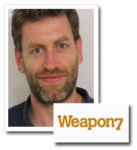 Jeremy Garner, executive creative director, Weapon7