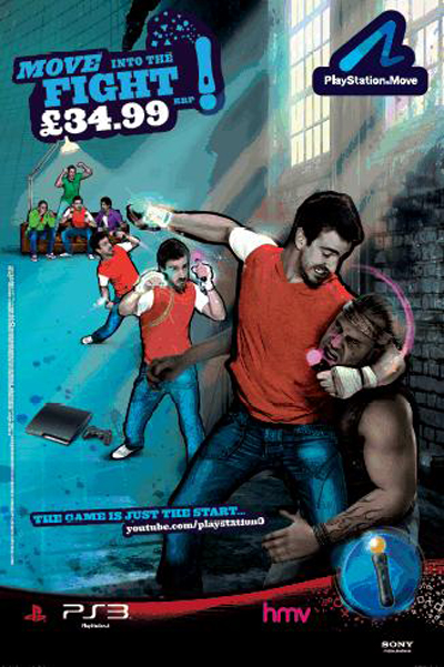 PlayStation Move poster is banned by the Advertising Standards Authority (ASA)