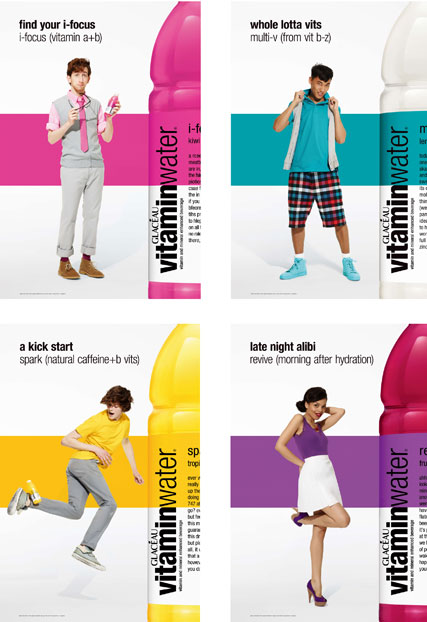 Glaceau vitaminwater rolls out its biggest UK campaign