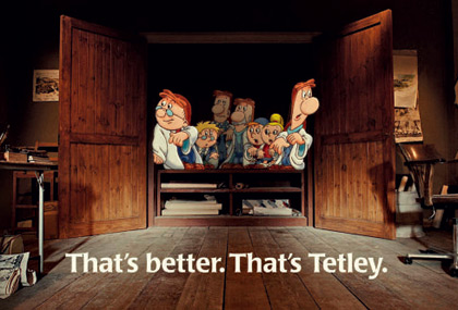 Return of the Tetley tea folk