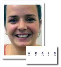 Rachel Biscombe, press manager, Aegis Media