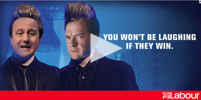 Labour Party Jedward poster