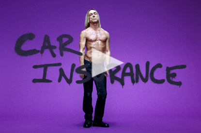Iggy Pop in Swiftcover ad