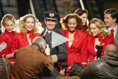 Virgin Atlantic love at first flight ad