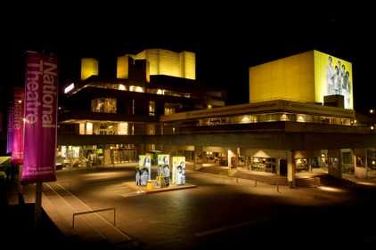 Projections and a pop-up photo studio at the National Theatre