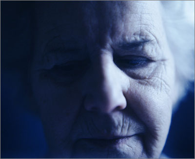 Depression probably affects as many men as women but in the elderly it is more prevalent in women