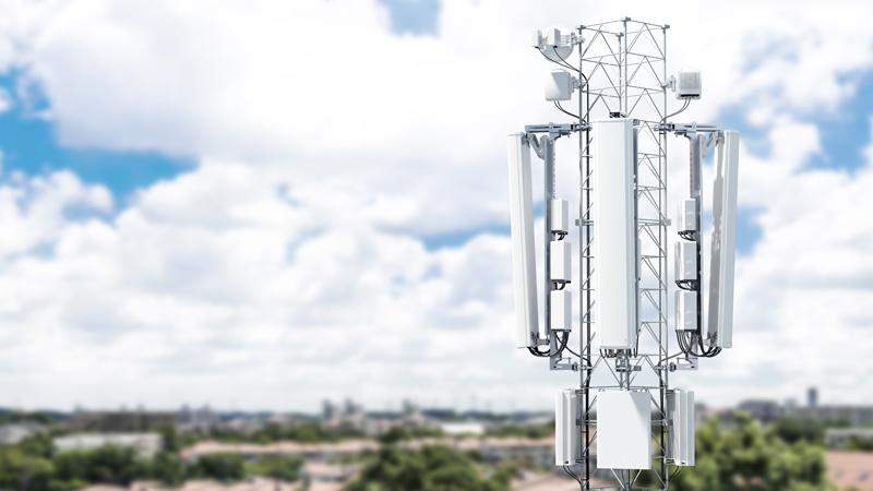 Ericsson mobile mast