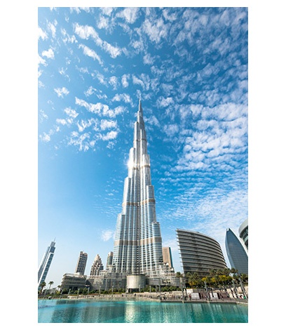 Silicones: the Burj Khalifa