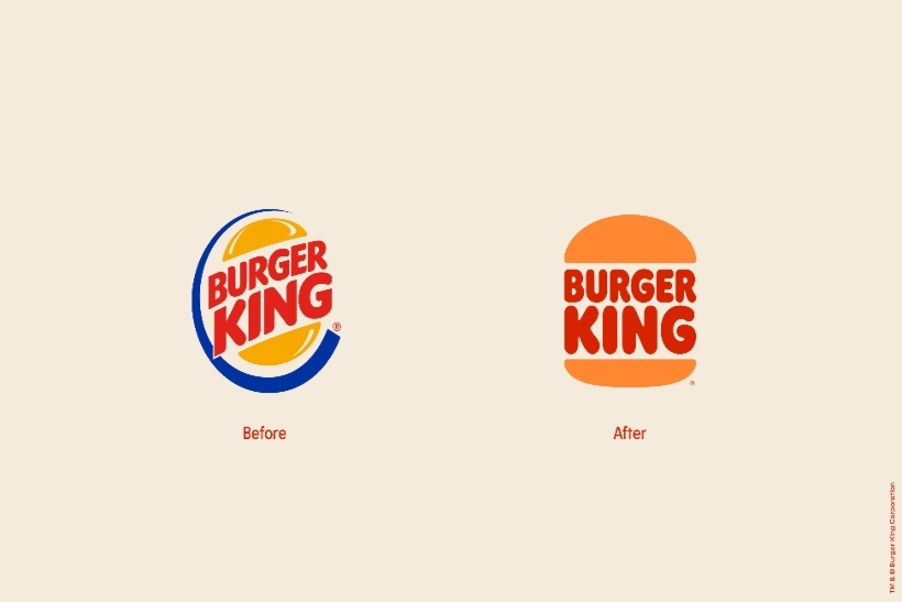 Burger King unveils new minimalistic logo