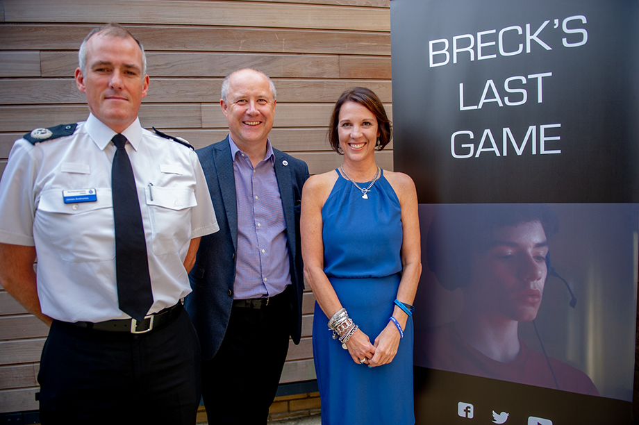 From left: Northamptonshire Police assistant chief constable James Andronov; Northamptonshire police and crime commissioner Stephen Mold; and Lorin LaFave