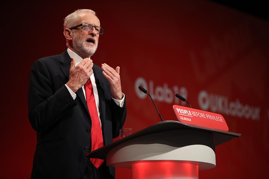 Jeremy Corbyn (pic credit Getty Images)