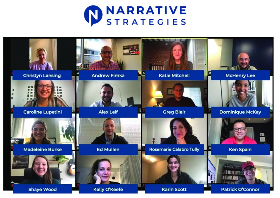 Narrative Strategies team photo