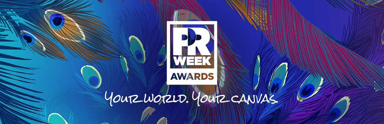 2020 PRWeek Awards winners banner