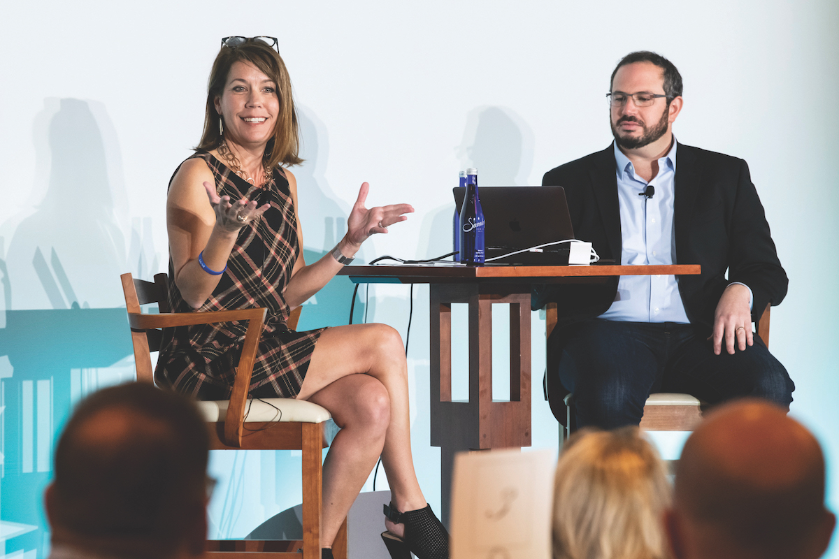 Chase CCO Trish Wexler on an event panel
