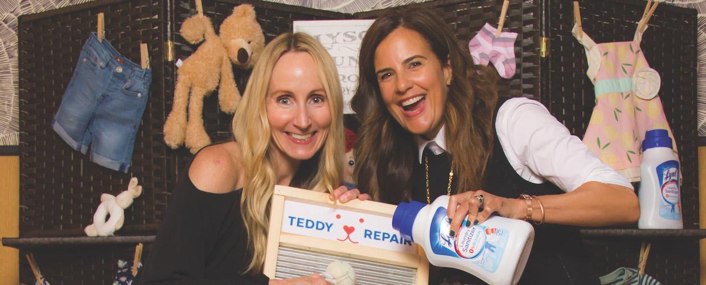Lysol Teddy Repair campaign