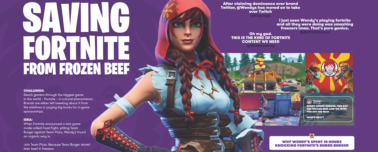 Keeping Fortnite Fresh campaign