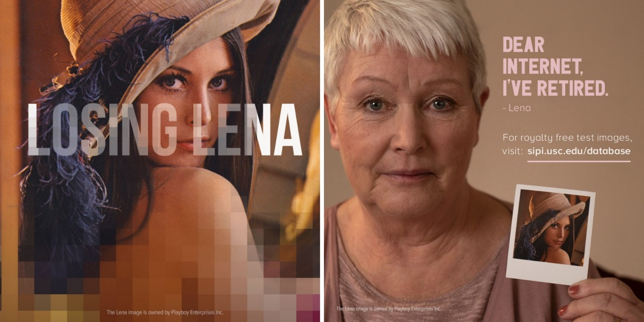 Losing Lena campaign image