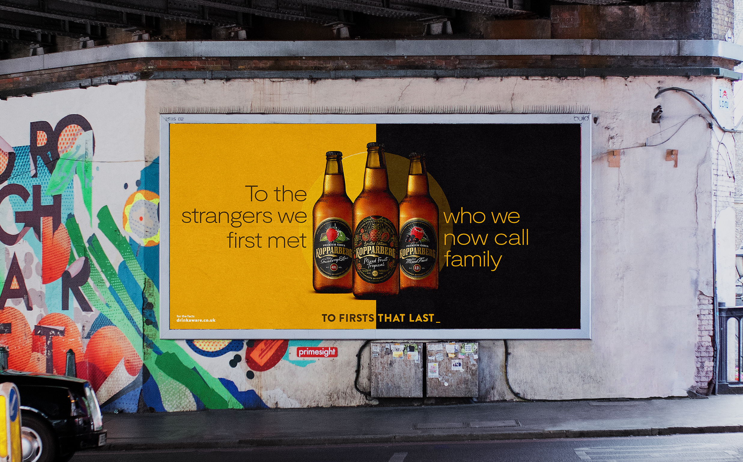 Kopparberg: campaign includes outdoor activity