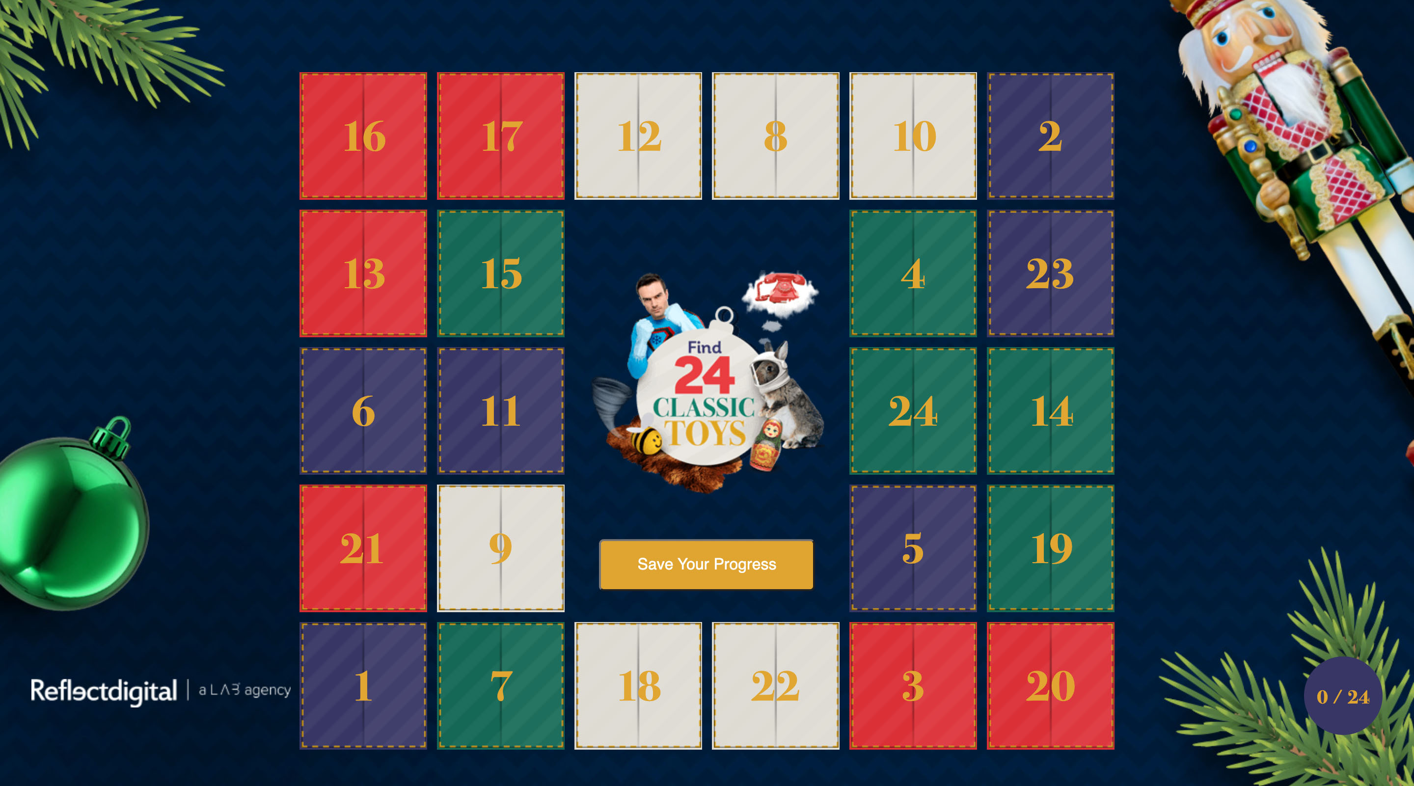 Reflect Digital: classic toys appear in advent quiz