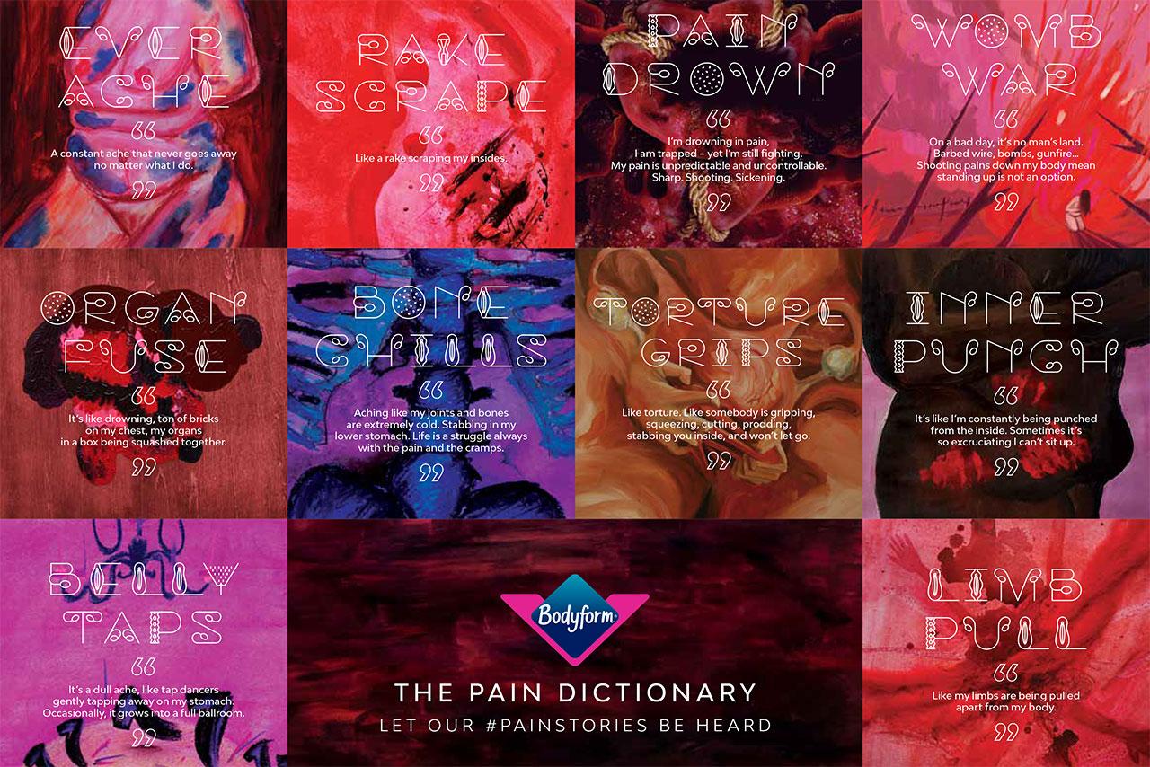 Bodyform: campaign supported earlier diagnosis of endometriosis