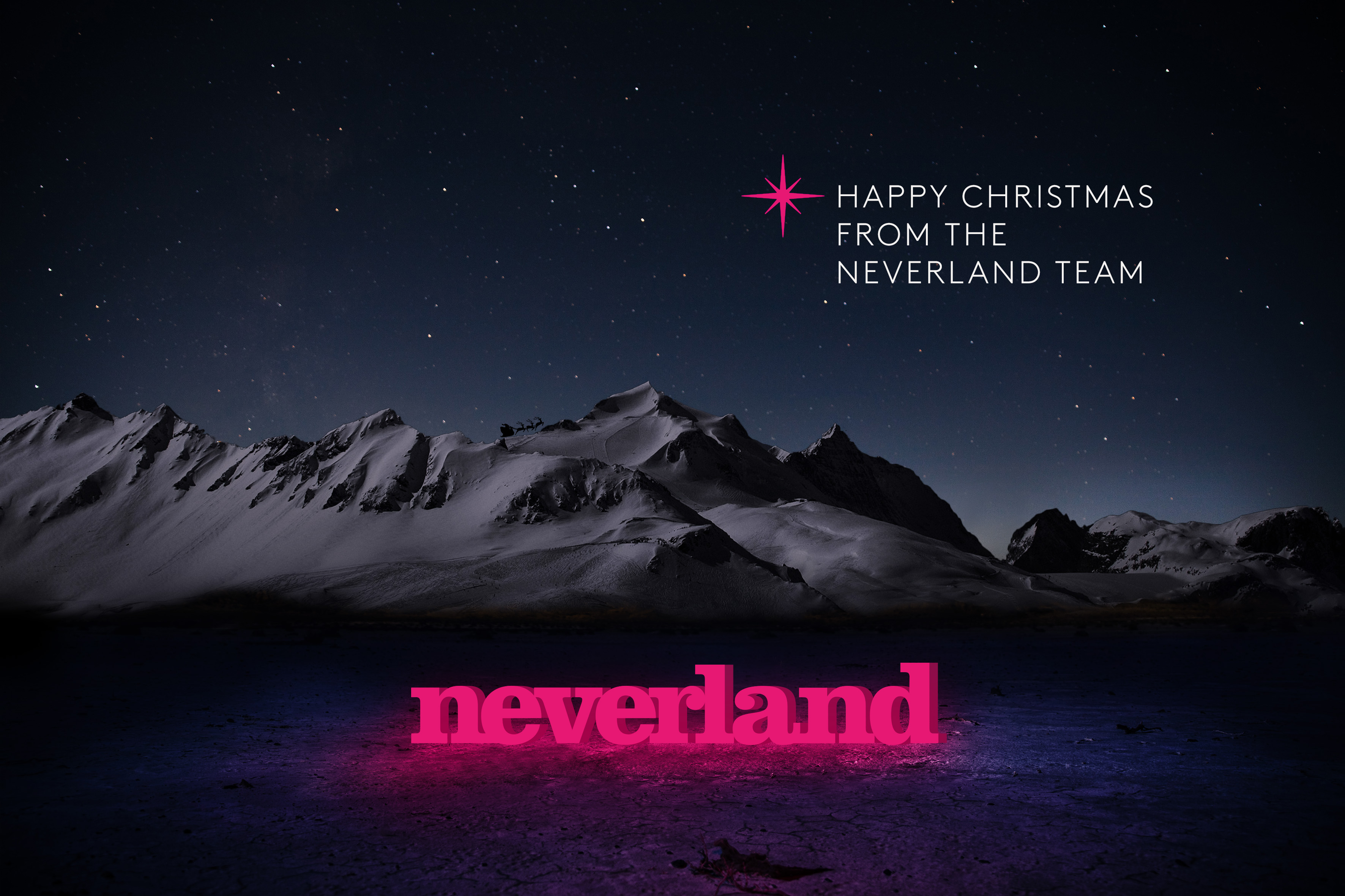 Neverland: agency is doling out stars
