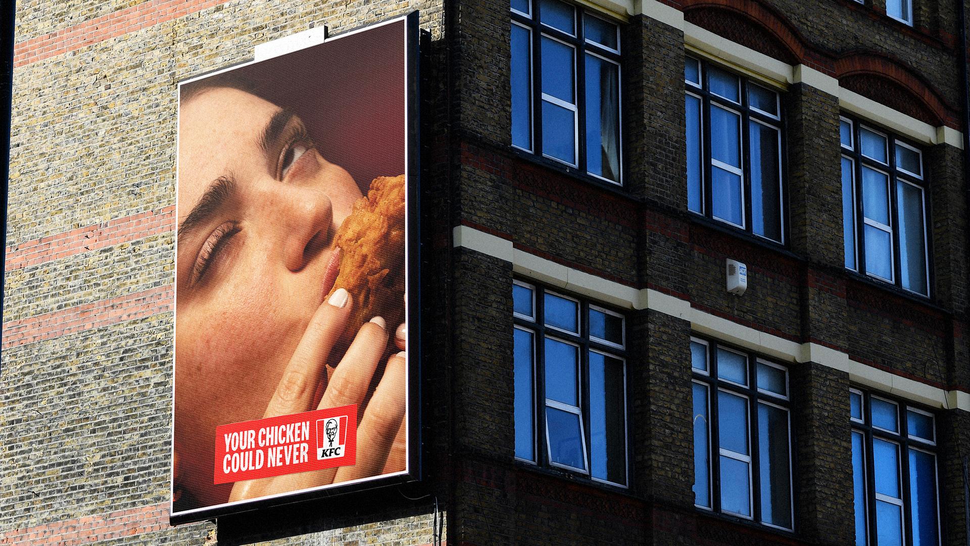 KFC: campaign includes outdoor activity