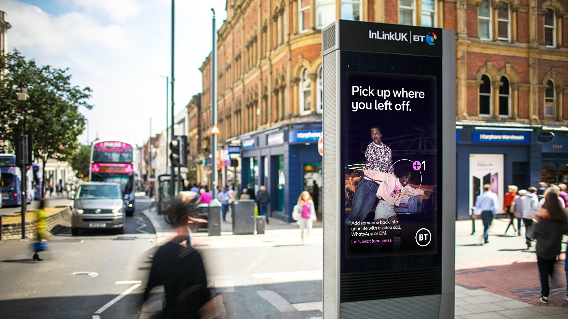 BT: outdoor ads aim to beat loneliness