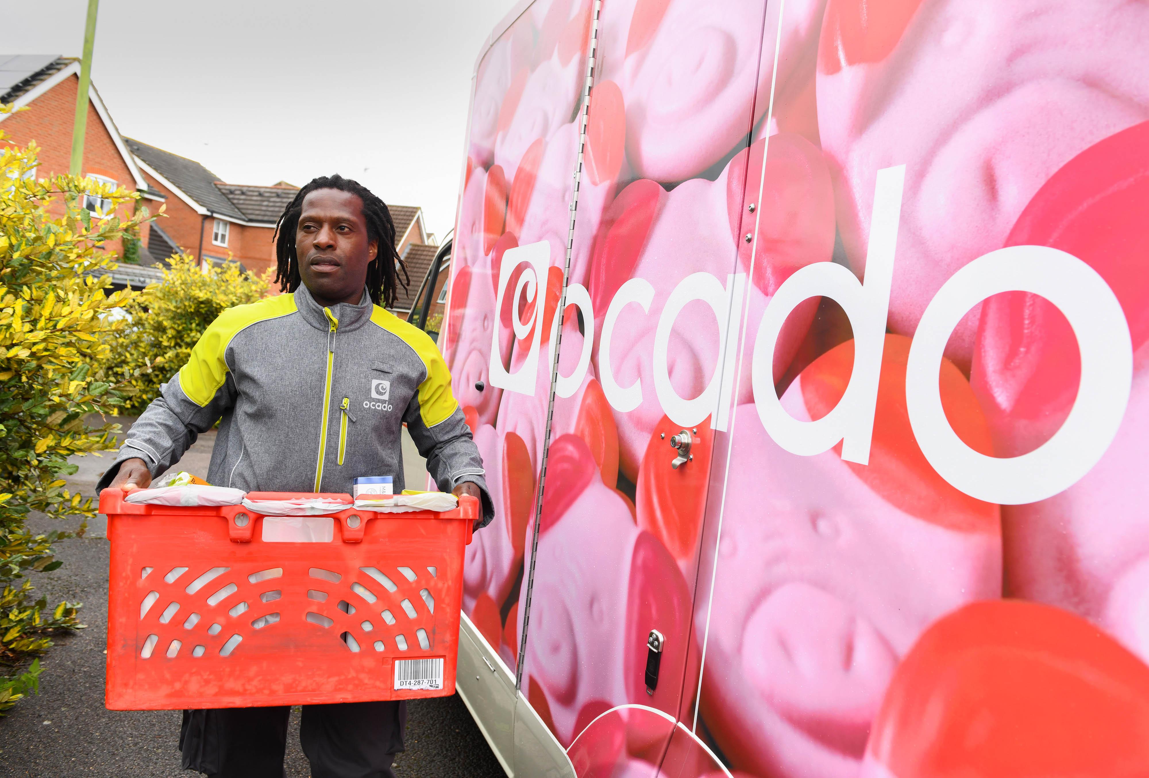 Ocado: brand has created 10 Percy Pig vans