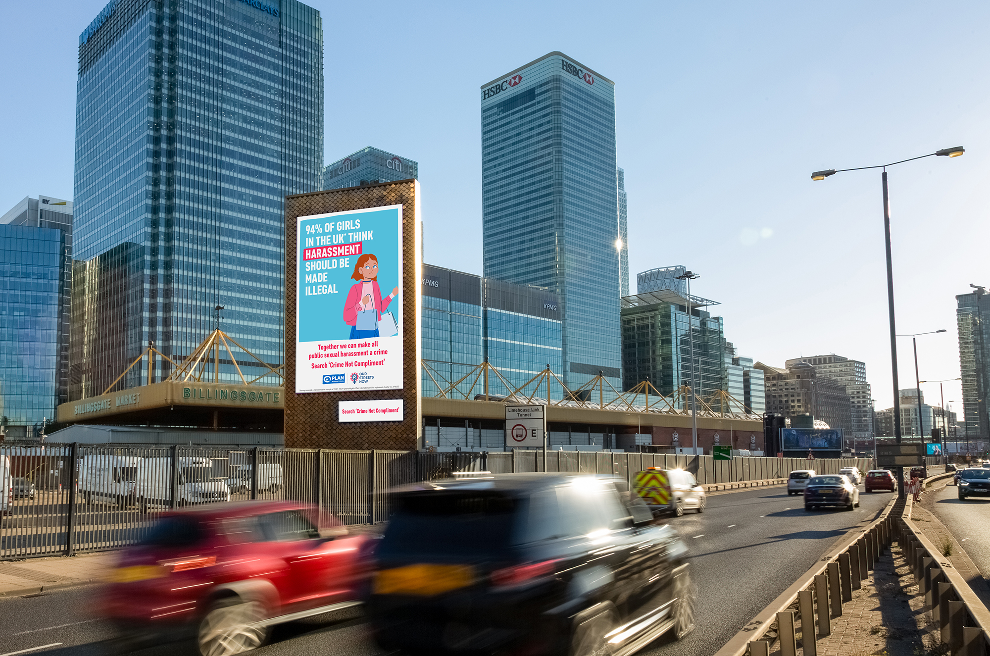 Clear Channel: campaign comprises outdoor activity