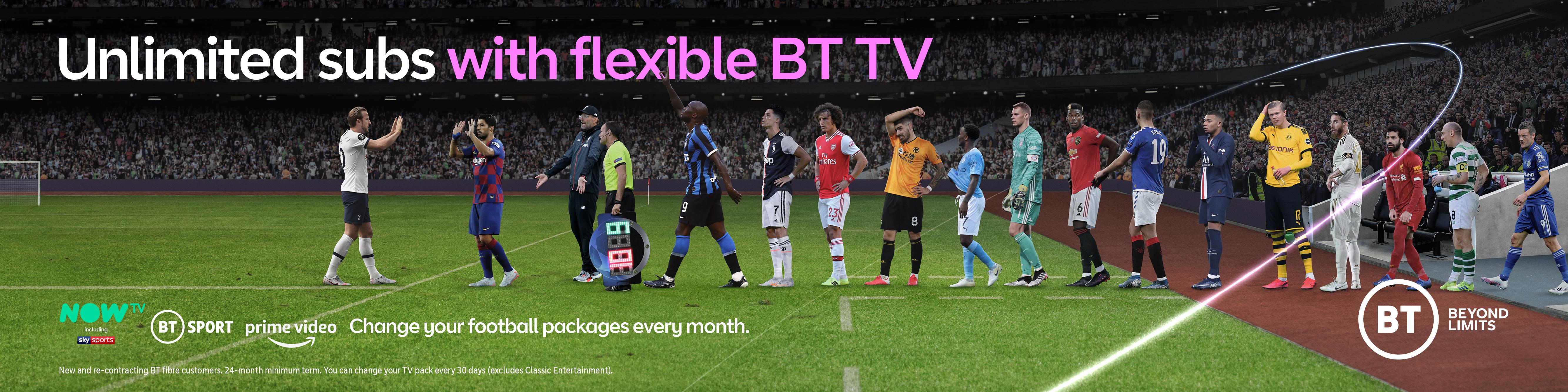 BT Sport: campaign includes outdoor activity