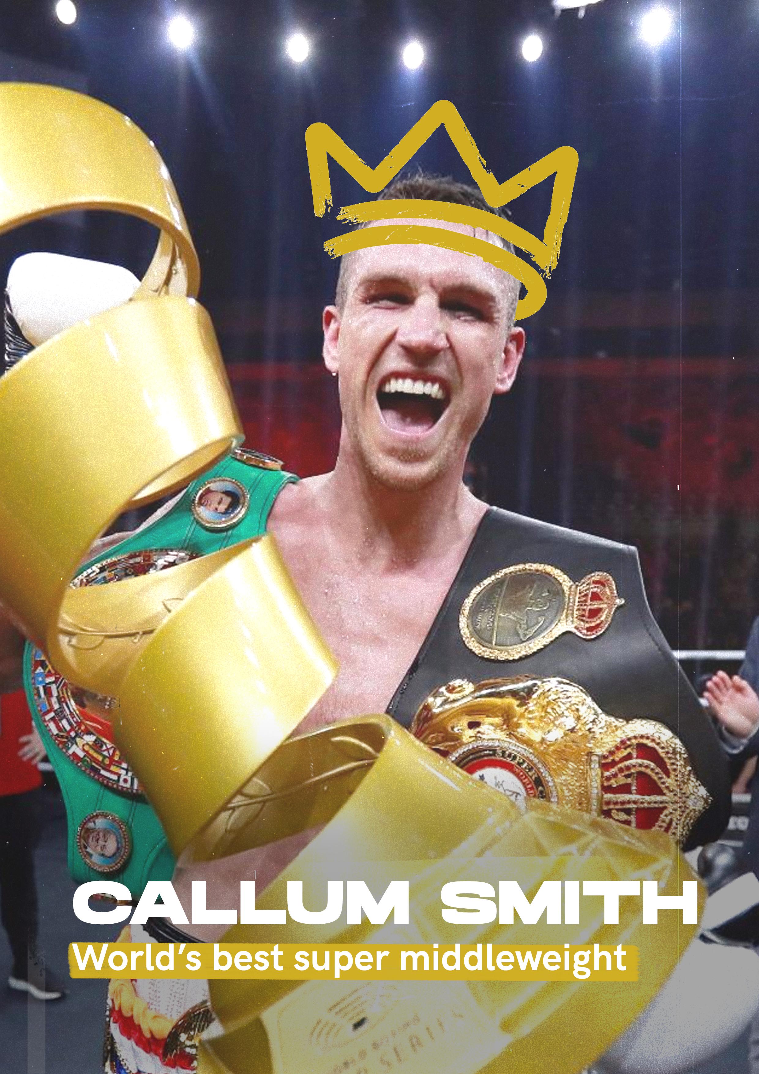 STN Sports: campaign features Callum Smith