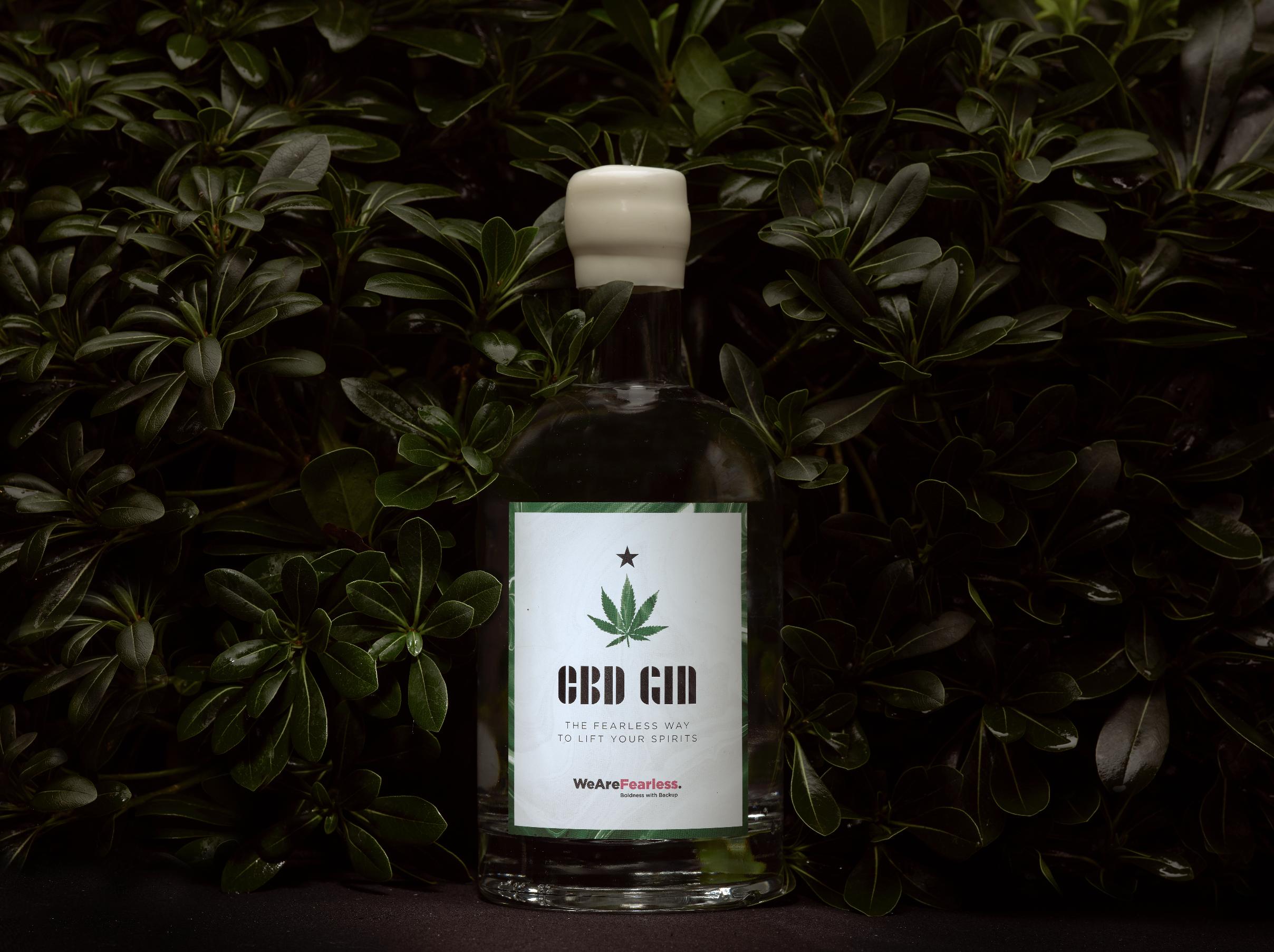 WeAreFearless: agency created CBD gin