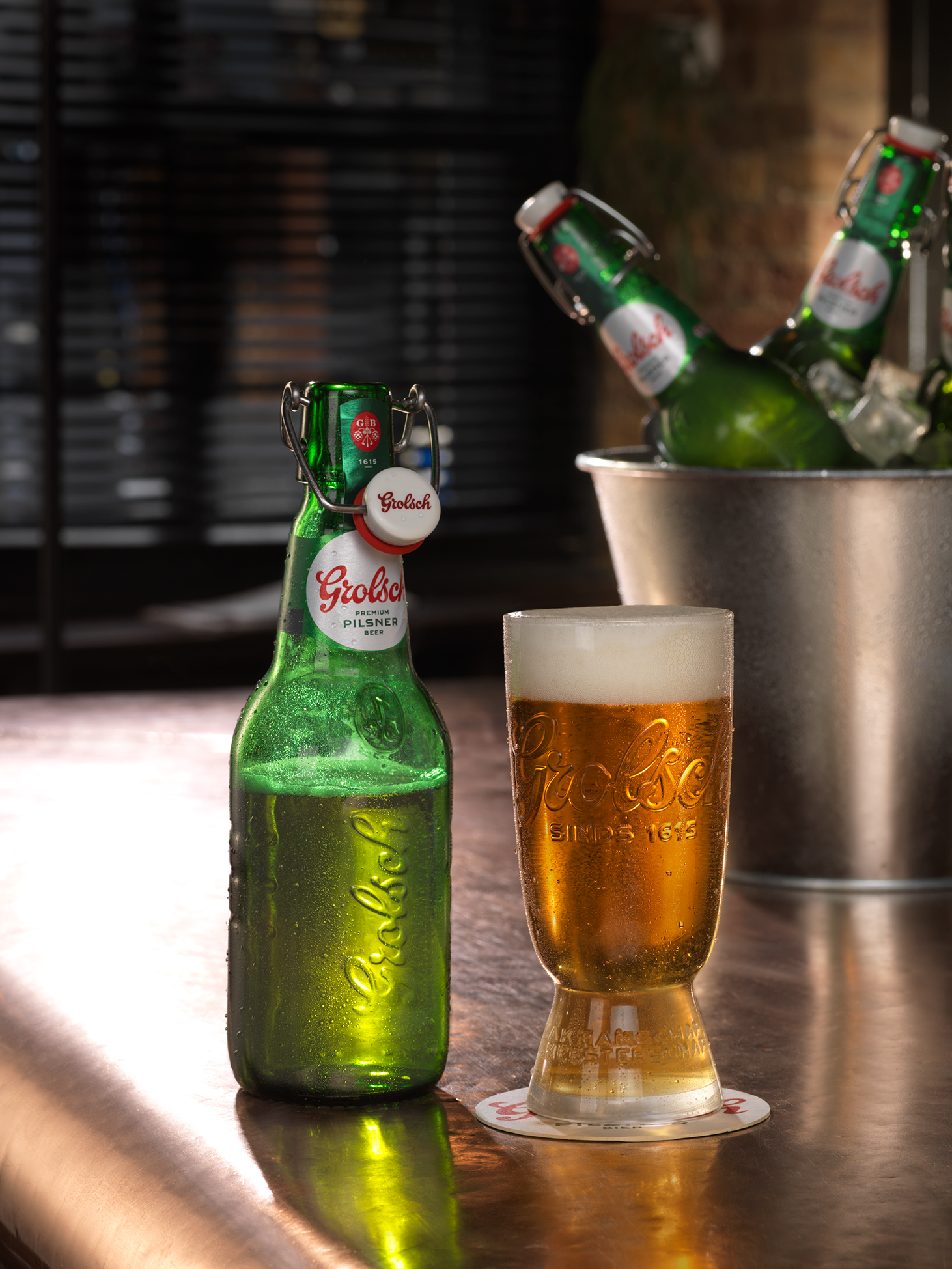 Grolsch: brand returns with 4% pilsner