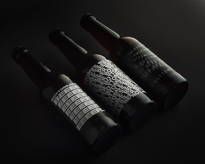 Waste: beer has personalised agency labels