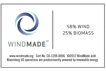 Windmade Bloomberg logo