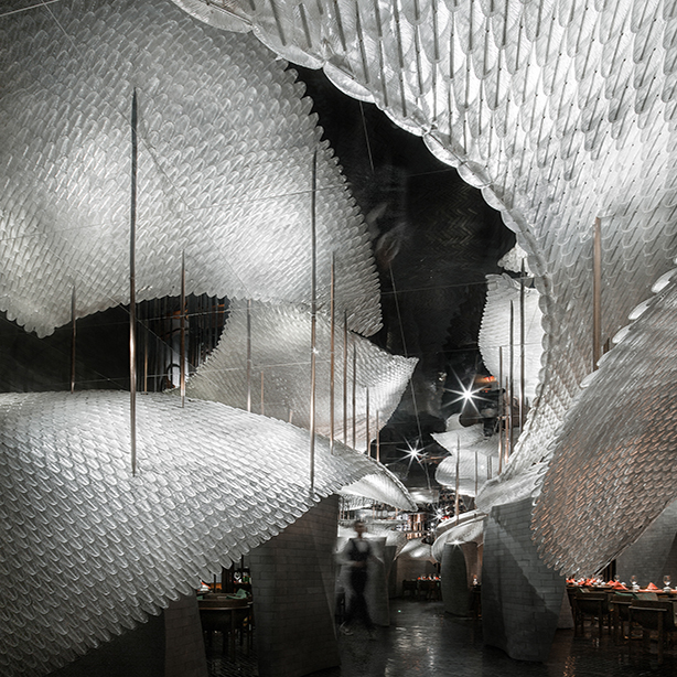 2019 WIN Awards:  Song Chinese Cuisine - Republican Metropolis Architecture