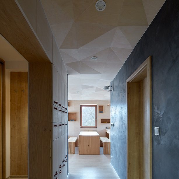 Czech and French landscapes influence apartment