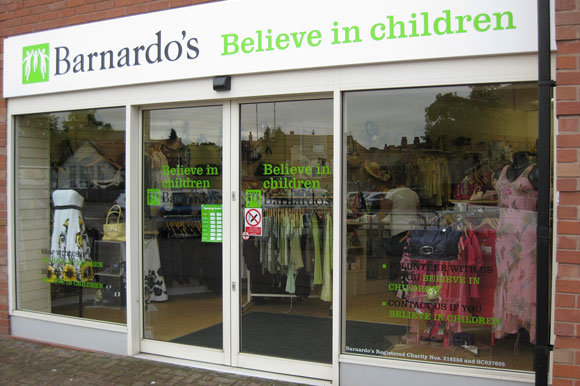 Barnardo's shop