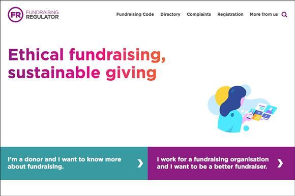 fundraising regulator website