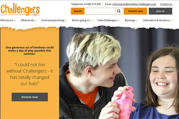 Challengers website