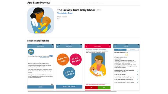 lullaby trust website