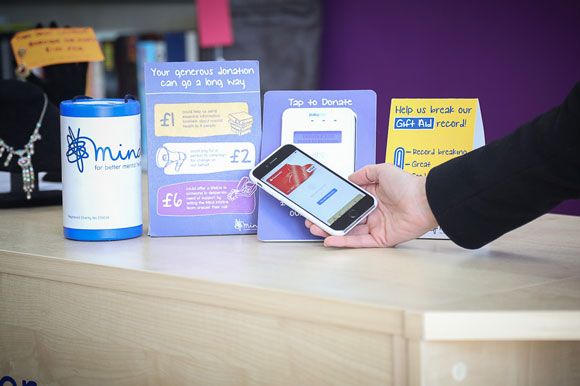 Mind contactless payment system