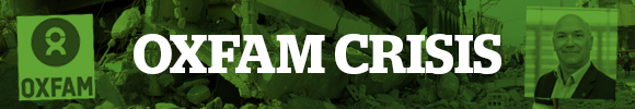 Oxfam crisis logo