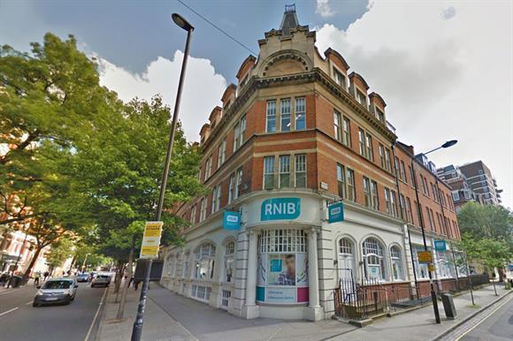 The RNIB headquarters in London